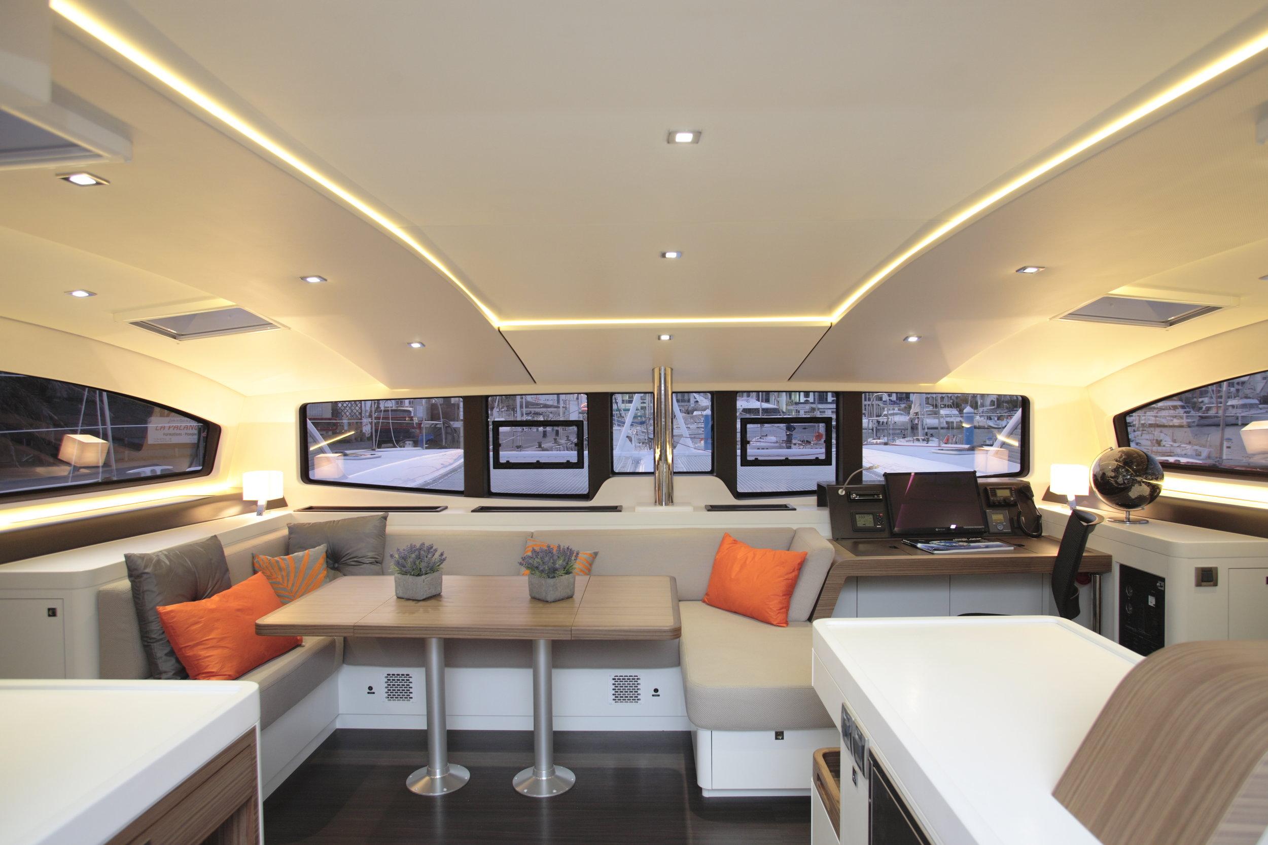 Outremer 5X Interior forward.JPG