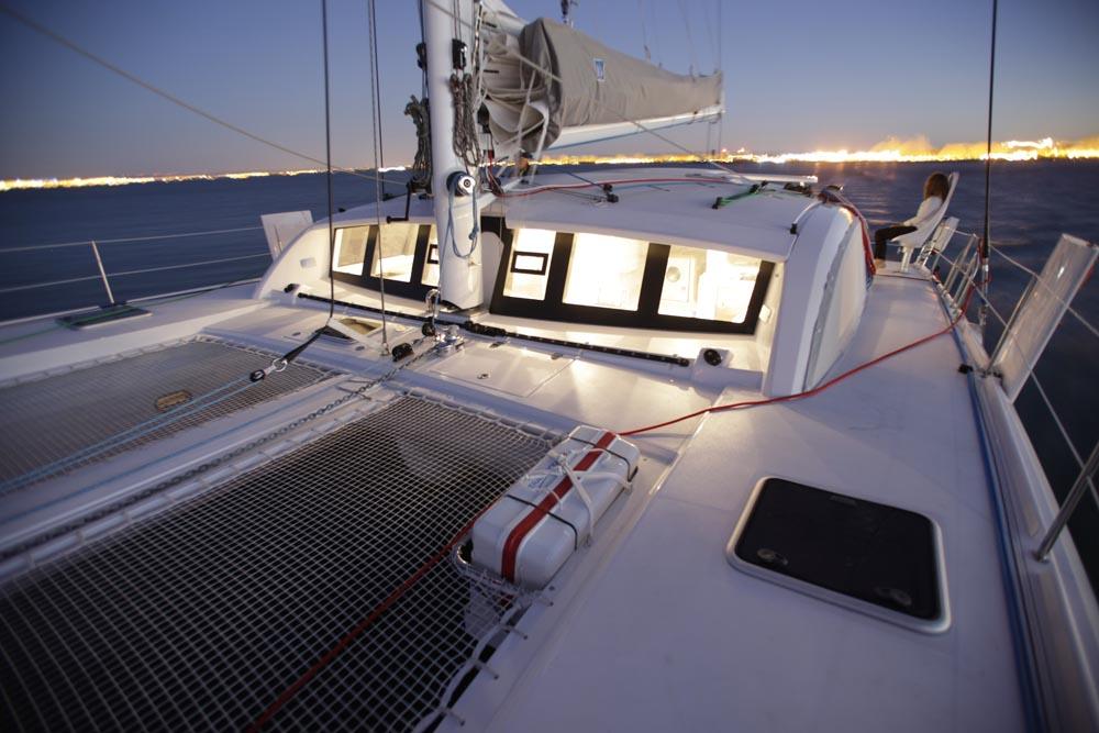 Outremer 51 Catamaran trampoline forward.jpg