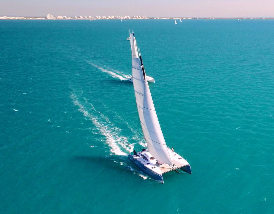 Outremer catamarans sailing.JPG