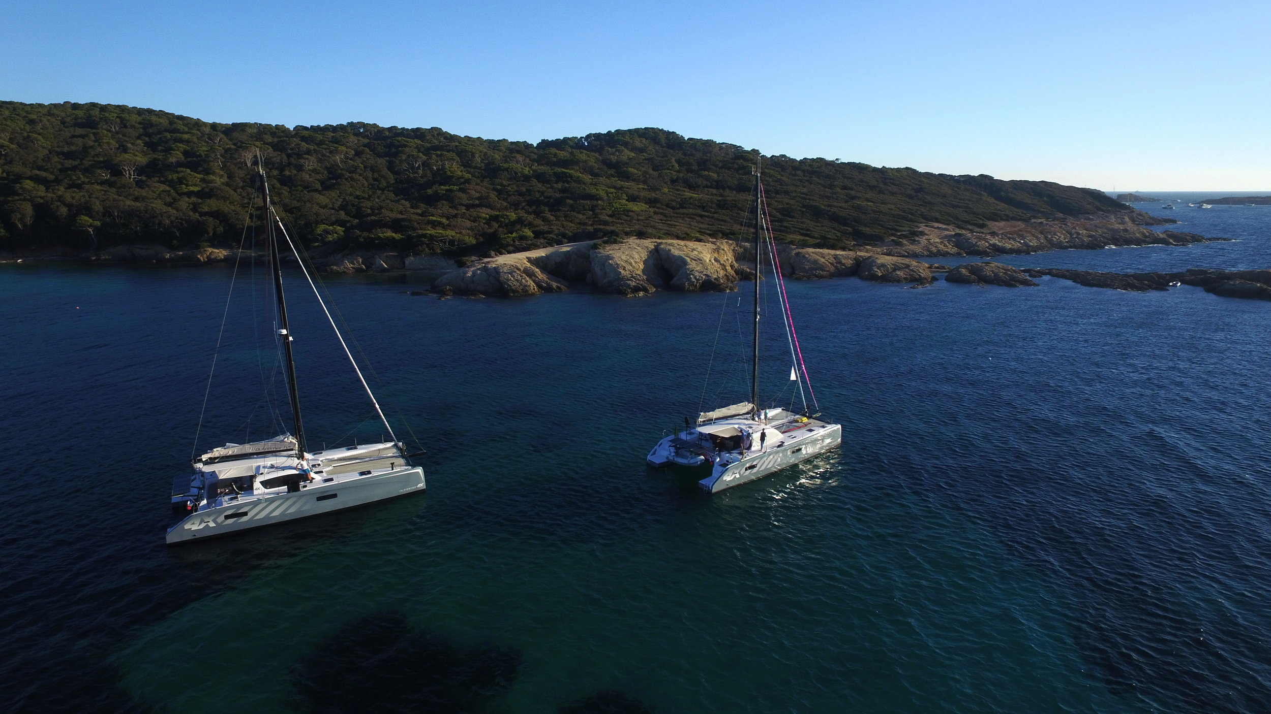 Outremer Catamaran 4X together.JPG