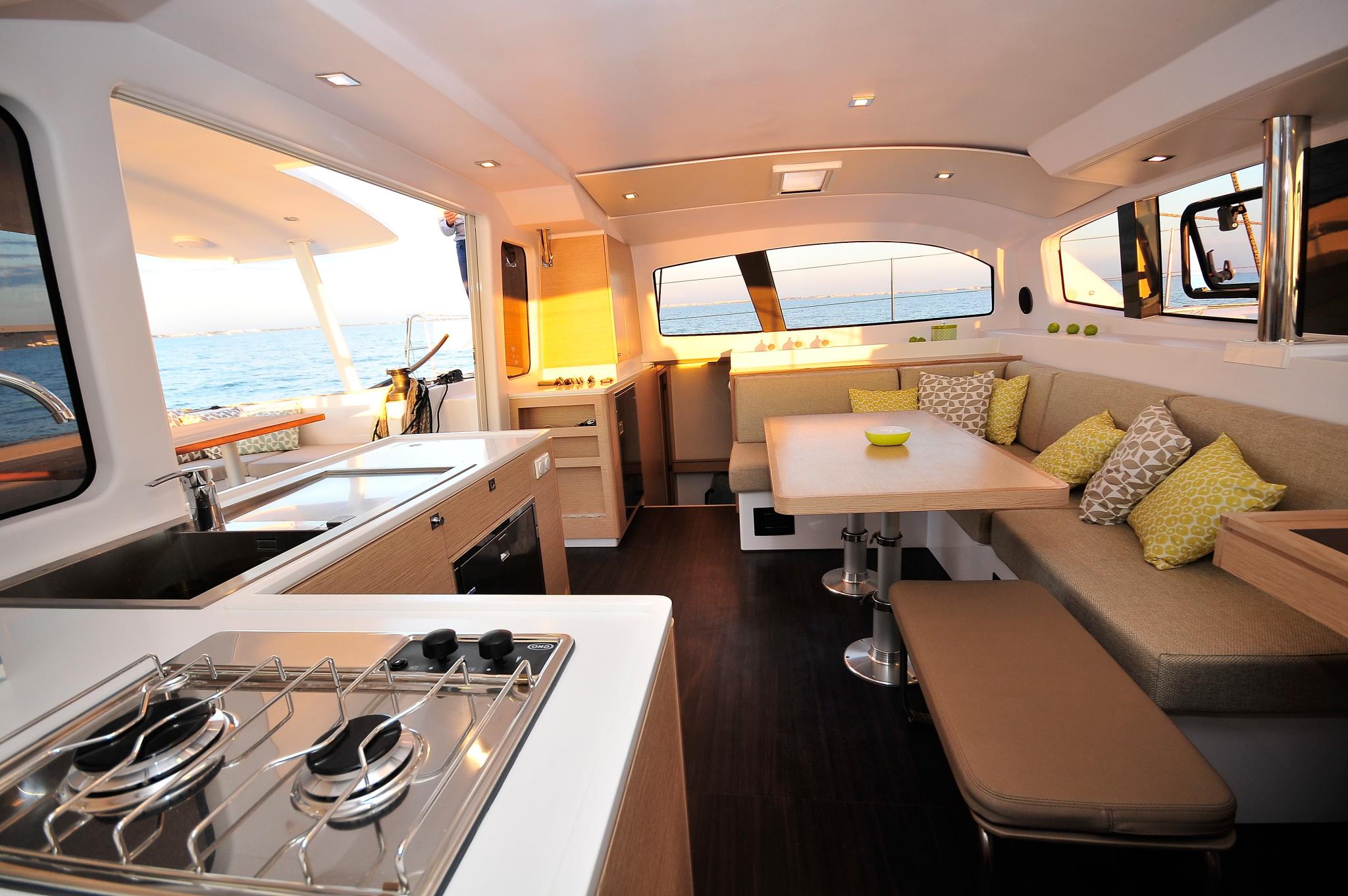 Outremer 45 catamaran interior galley.jpg