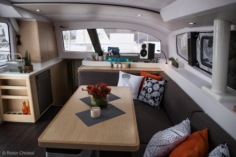 Outremer 45 catamaran interior seating port.jpg