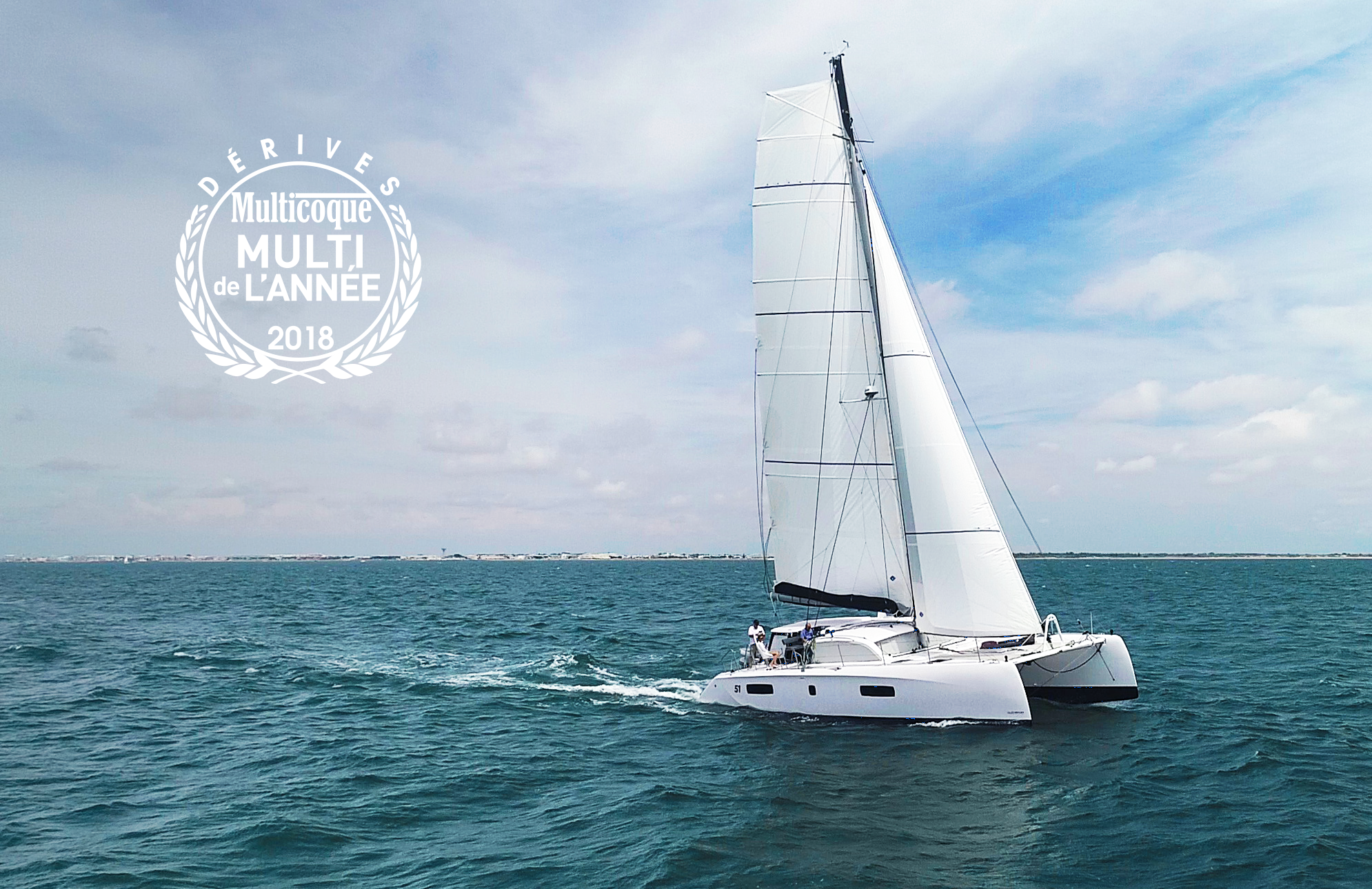 Multihull of the year by Voile Magazine