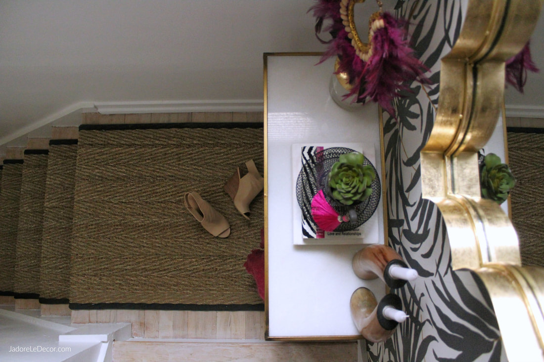 www.JadoreLeDecor.com | Follow along as I reveal this quick and easy hallway refresh. | #Oneroomchallenge