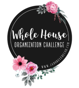 www.JadoreLeDecor.com | Whole House Organization Challenge | Small Space Living