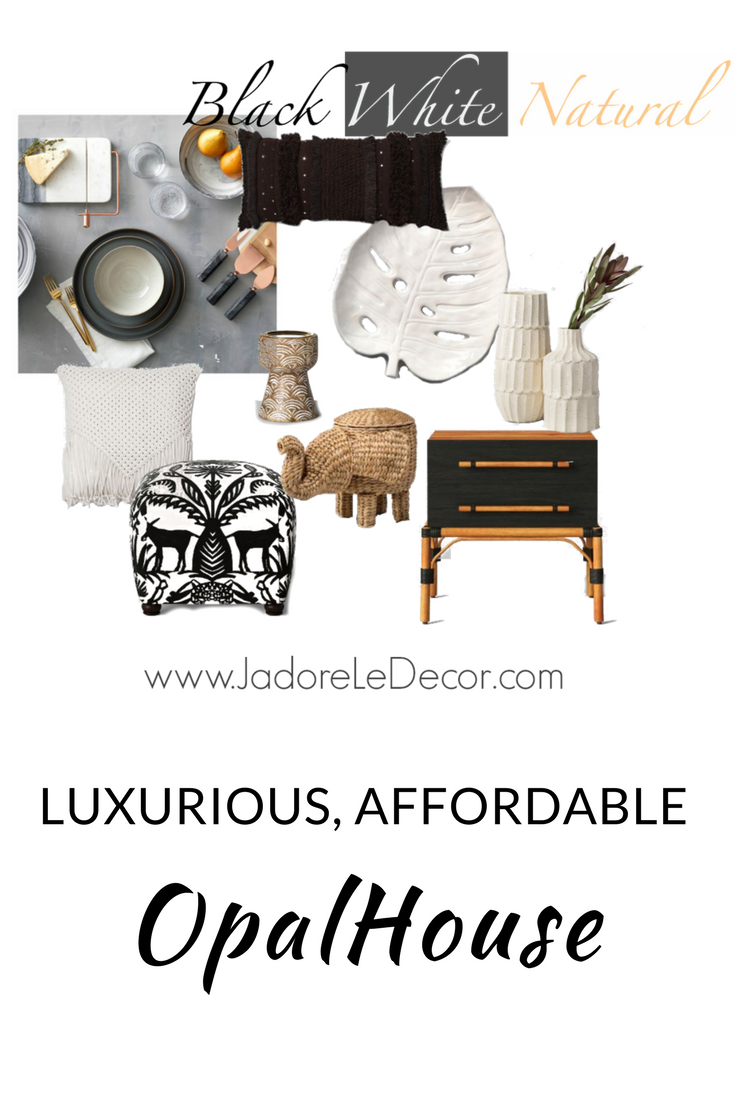 www.JadoreLeDecor.com   A review and sampling of of Target's new line of home goods - OpalHouse