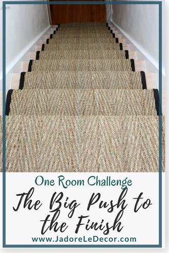www.JadoreLeDecor.com | One Room Challenge | Small Space Makeover | Hallway Refresh
