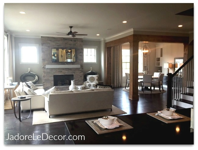www.JadoreLeDecor.com |Steal tips from large-scale models homes for your small space. | Model Home Tours | Design Inspiration