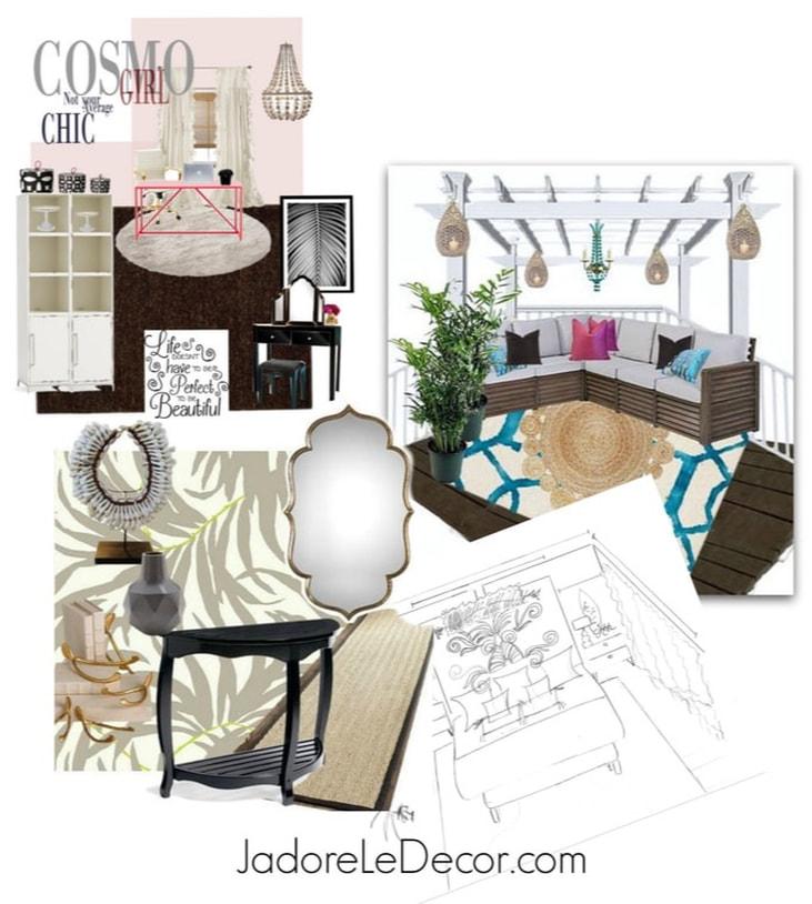 www.JadoreLeDecor.com  Basic steps I take to prepare for a successful room makeover.   Room Makeover Tips