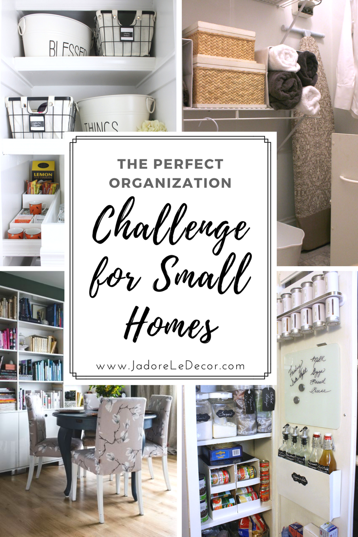 www.JadoreLeDecor.com |A recap of my 2018 Whole House Organization Challenge | Small Space Living & Organization Tips |
