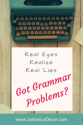 www.JadoreLeDecor.com |If there is one thing that can ruin communication, a class or business report, a blog, or even a first impression, it's poor grammar. Thankfully, there's a tool to help: Grammarly.