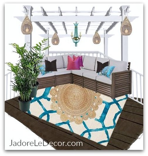 www.JadoreLeDecor.com   Reveal week of the One Room Challenge 2017