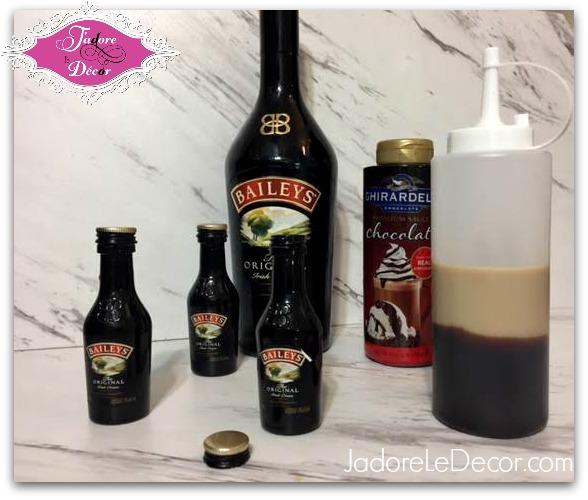 www.JadoreleDecor.com  Cupcakes made with Ghirardelli chocolate and Bailey's Irish Cream. Yum!   Desserts   Bailey's Irish Cream   Ghirardelli Chocolate