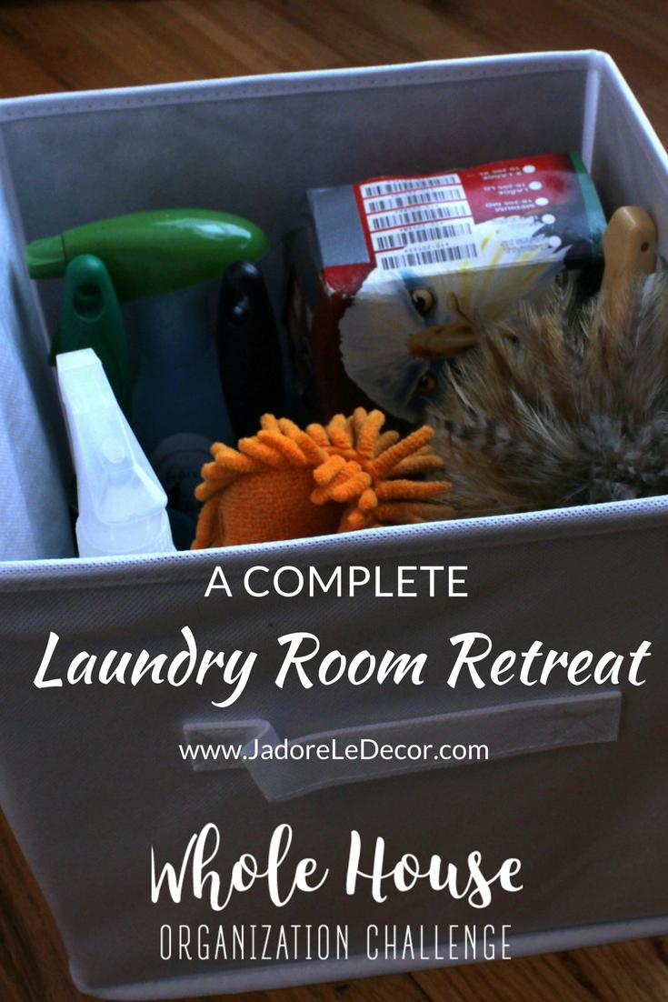 www.Jadoreledecor.com | Laundry/Utility Room Organization