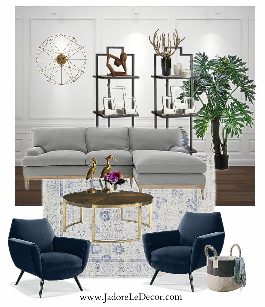www.JadoreleDecor.com   The children have moved from home, leaving their parents empty nesters. Let the redecorating begin!