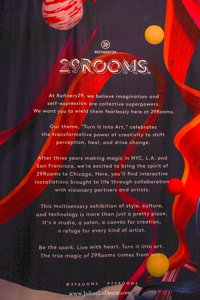 www.JadoreleDecor.com | Refinery29, a female driven digital-media and entertainment conglomerate strives to excite the masses with their art-meets-museum popup exhibit called 29 Rooms.