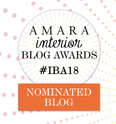 www.JadoreleDecor.com | My thoughts on J'adore le Décor's nomination for Best Interior Lifestyle Blog by luxury interiors retailer Amara, Inc.#IBA18