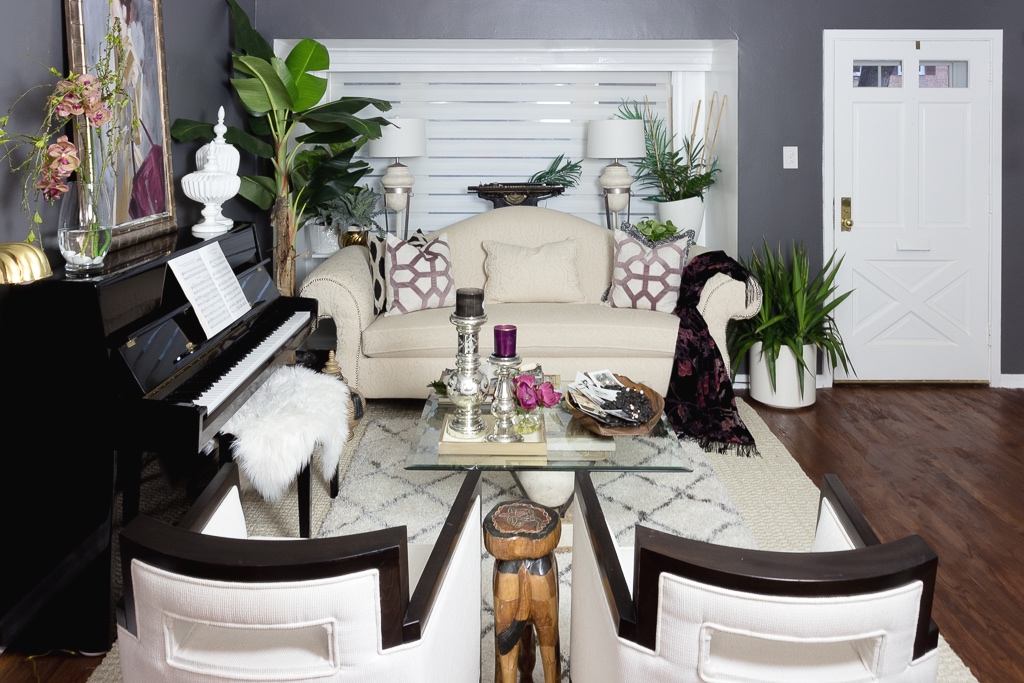 www.jadoreledecor.com | How to Organize Your Living Room for Real Life | Simple, attractive ways to organize your living room | Organize a Small Living Room | #smallspaceorganization #smalllivingroomorganization #formallivingroom #wholehouseorganizationchallenge #bohemianglam #frenchbohemian