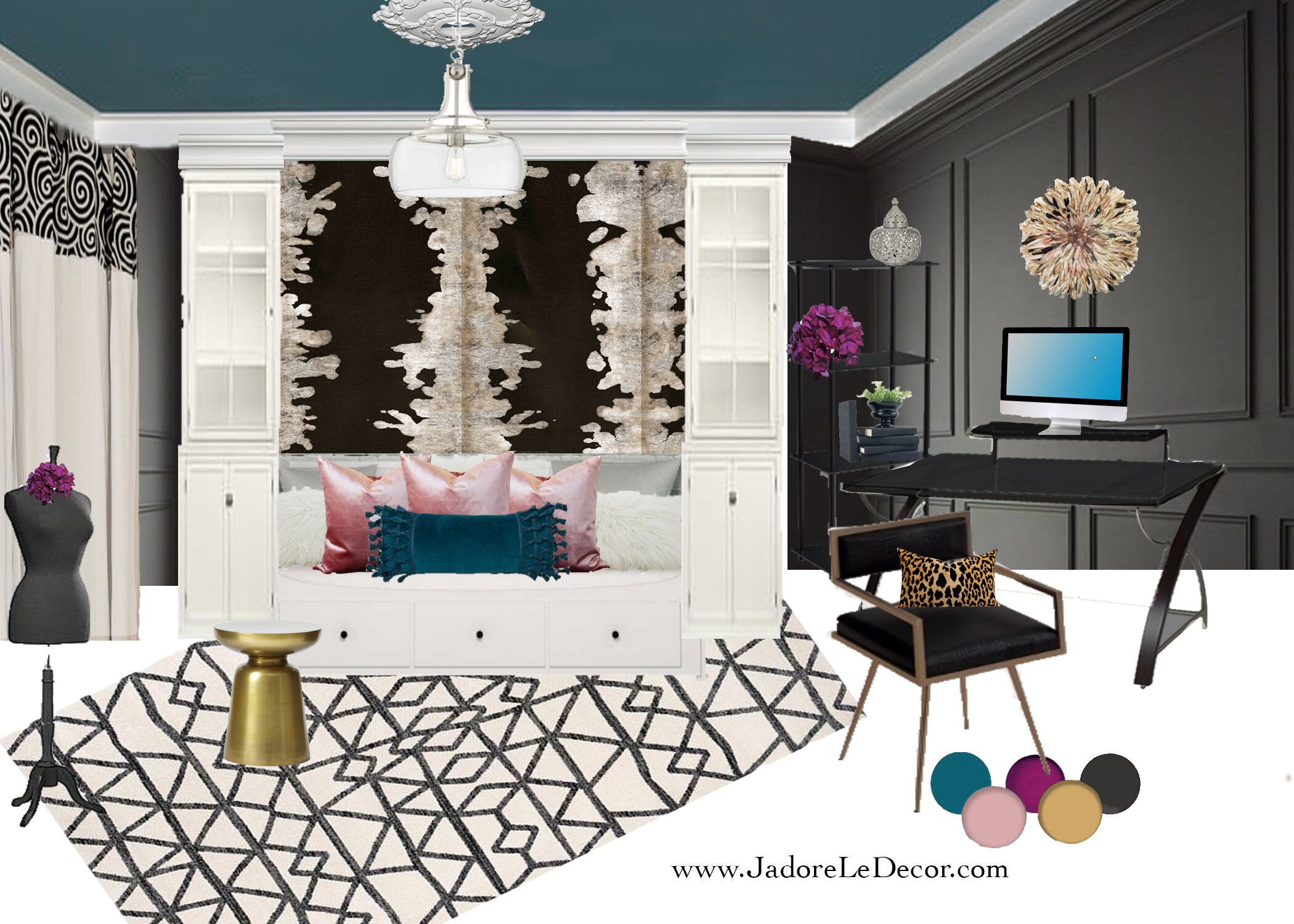 An Ikea Pax Hack How To Make 2 Stunning Built Ins From One Unit J Adore Le Decor