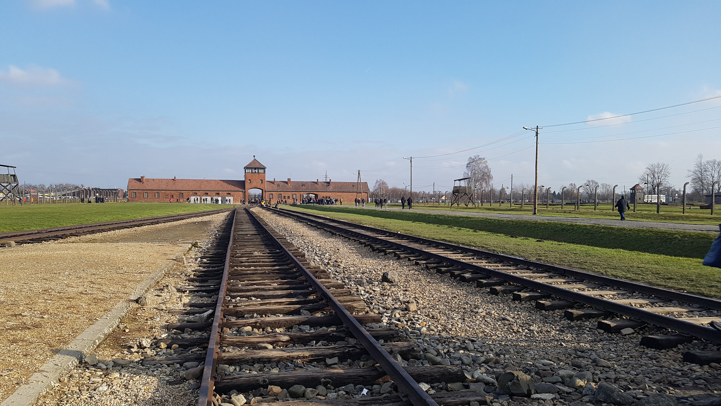 Auschwitz, Poland. Taken by: Mary Kate Peter