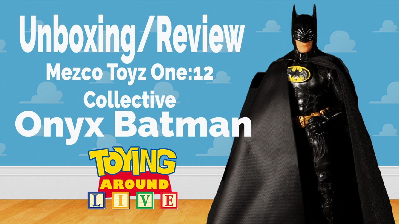 Mezco Toyz One:12 Collective Batman: Sovereign Knight - Onyx Edition