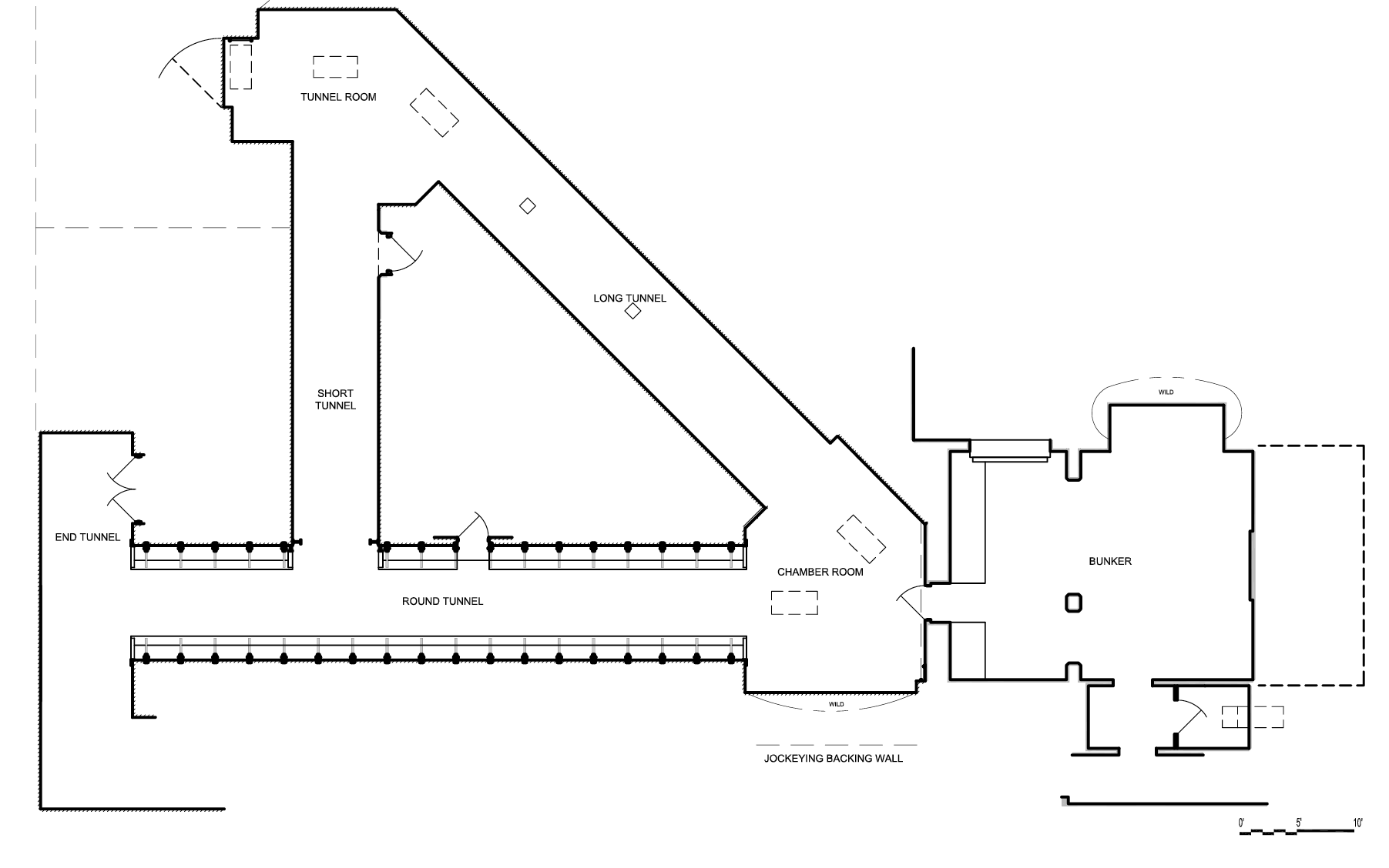 Capital Arts Set, Tunnel Director's Plan