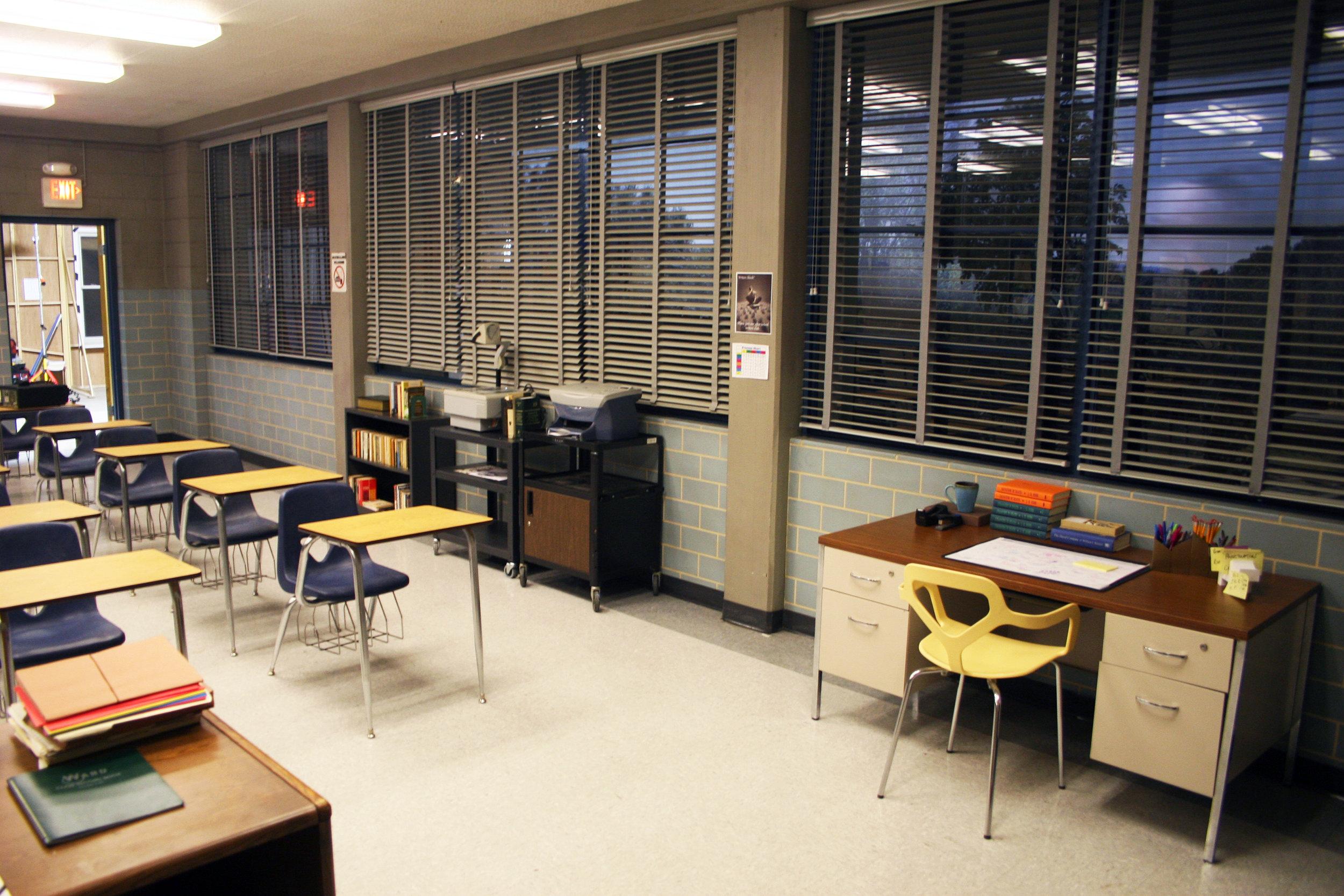 Capital Arts Set, English Classroom