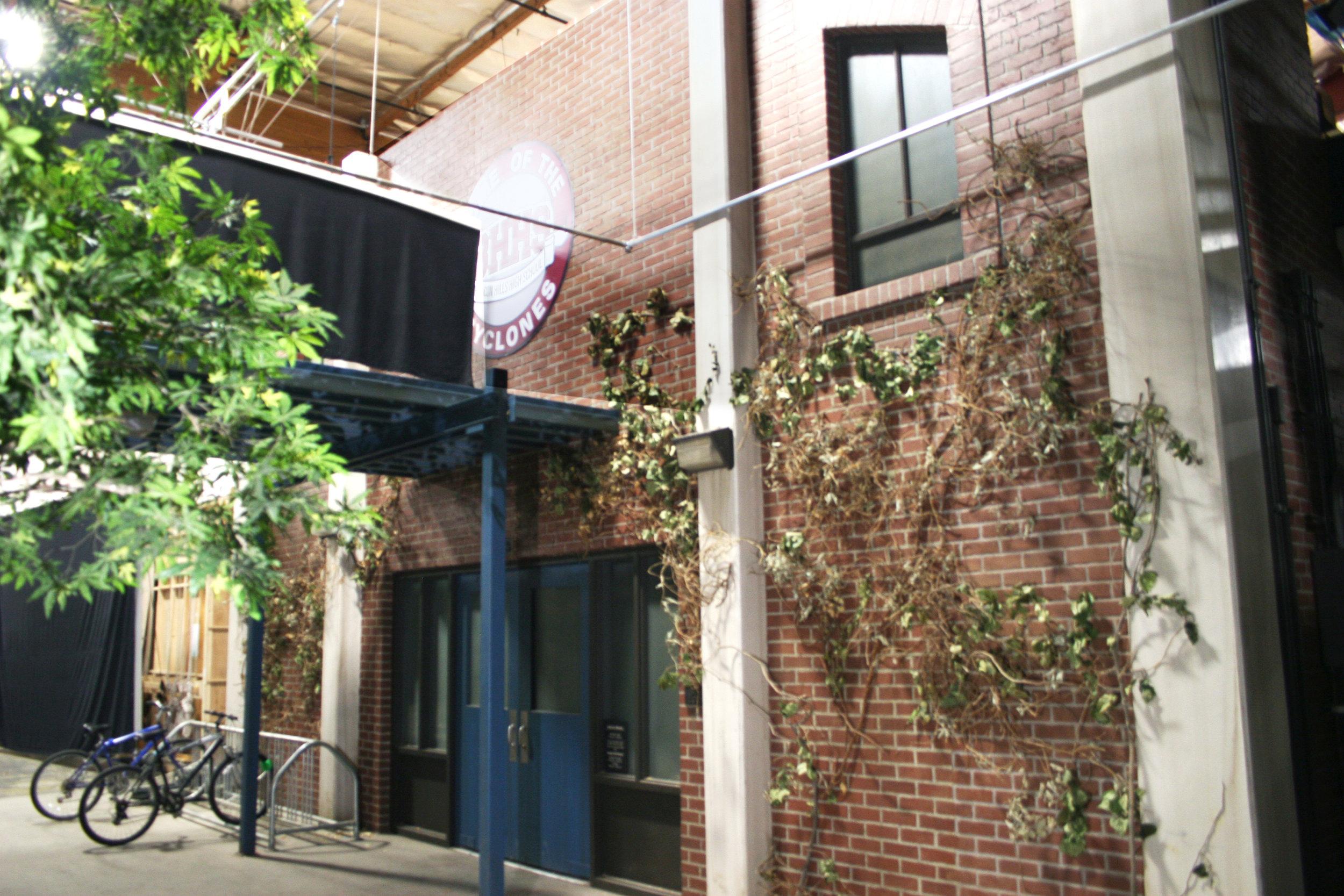 HIgh School - Courtyard