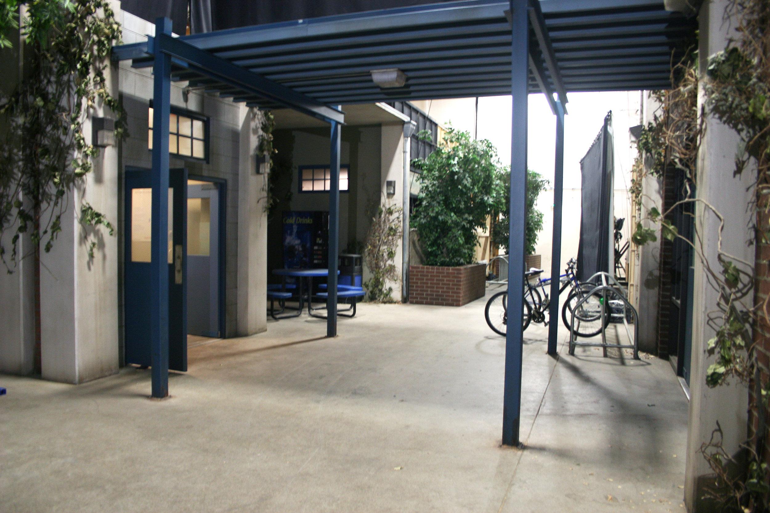 Capital Arts Set, High School Courtyard