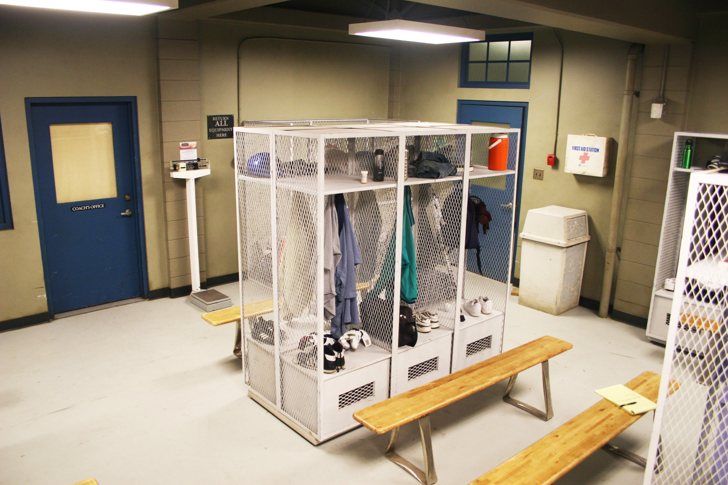 Capital Arts Set, High School Boy's Locker Room