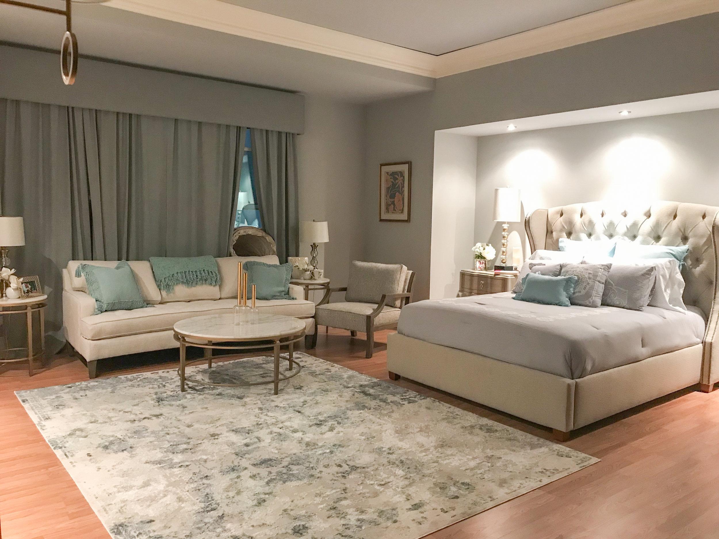 High-End Bedroom -