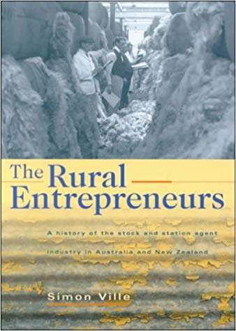 Stock and station firms served as middlemen between farmers and end markets for wool and other products.