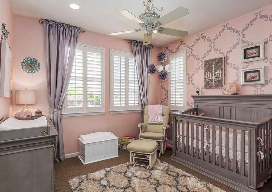Baby Nursery - Decorating the nursery is such an exciting and fun project. Selecting colors, themes, and planning out all the logistics for what you need when you are expecting a baby can be a bit overwhelming.  We can help you put all the elements together to create a cozy and beautiful environment, yet ensuring the functionality to make those late night feedings a breeze in such a well planned out space.
