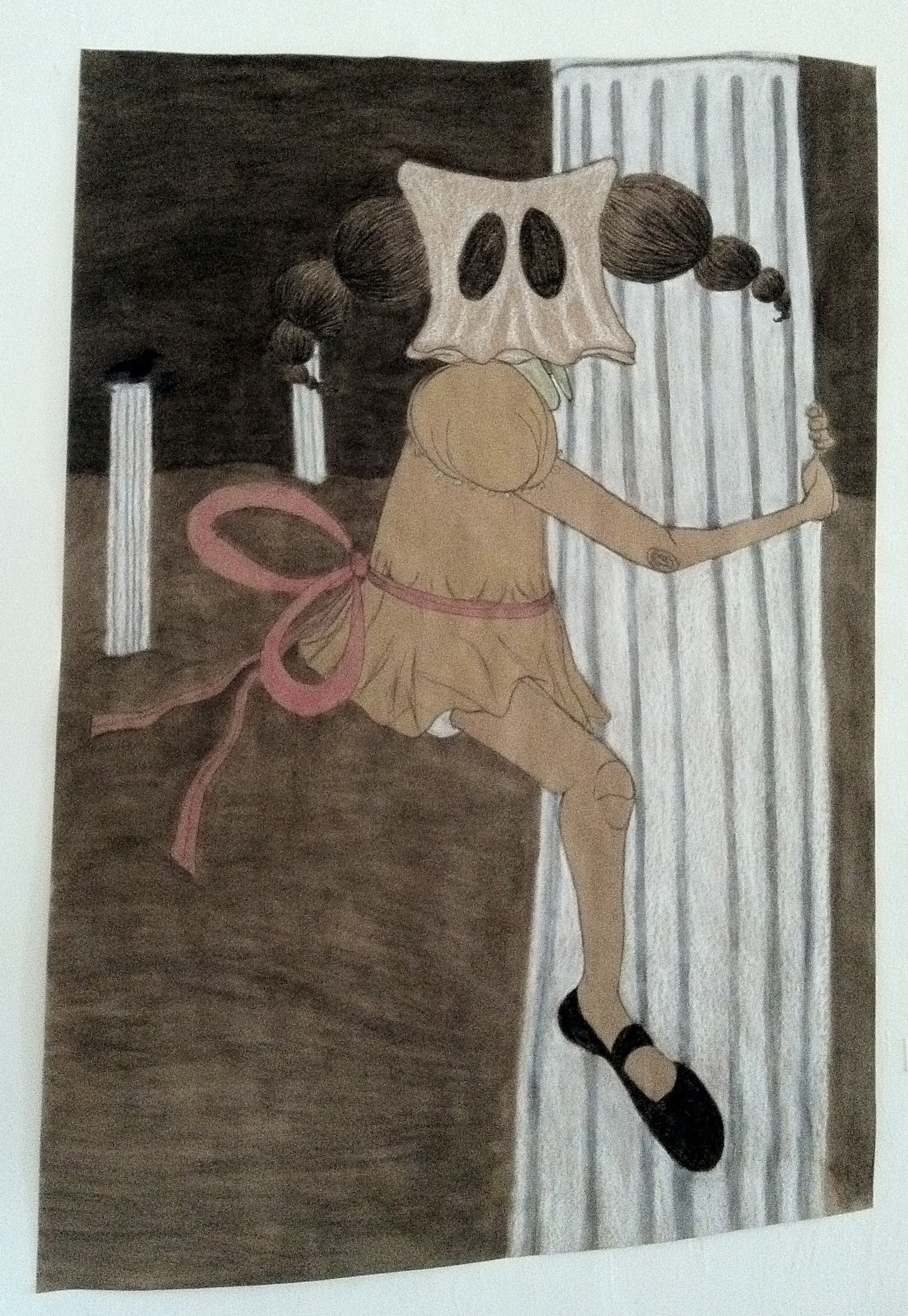 untitled histories  charcoal/conte on kraft paper 2011