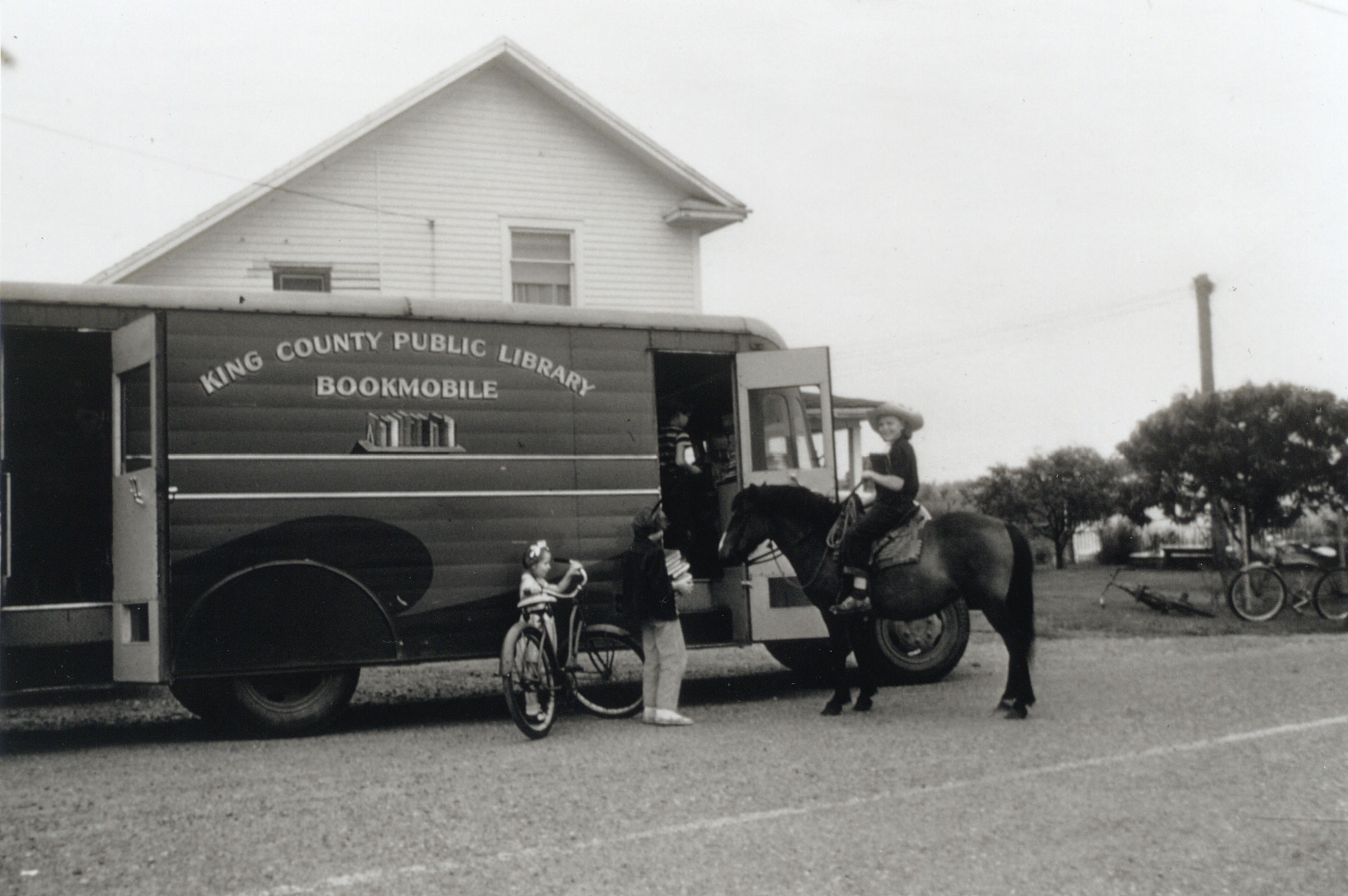 1947 - A second bookmobile, nicknamed