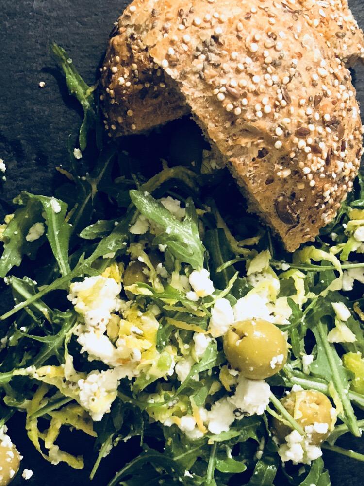Feta + Salad - by FRESHLY MADE