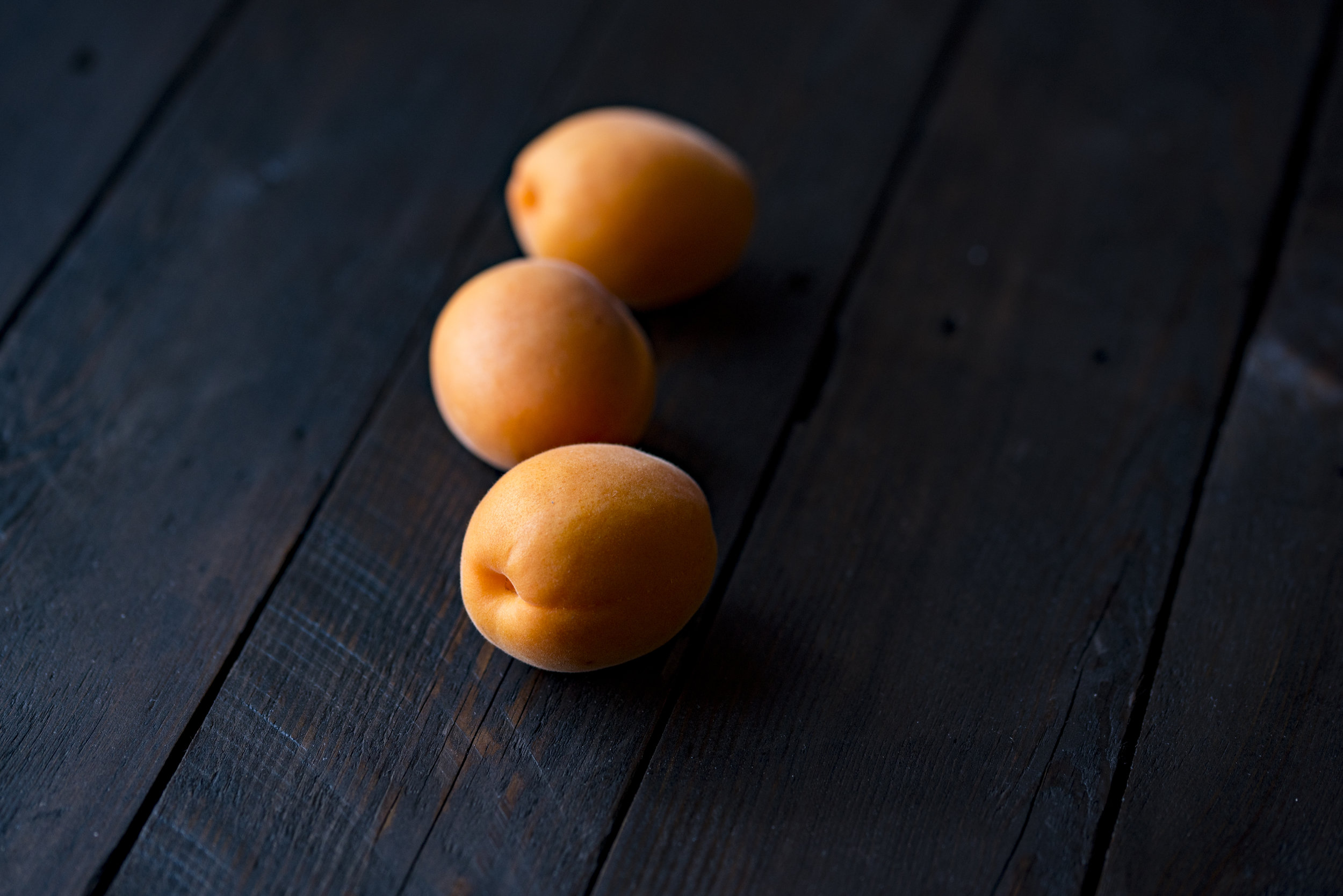 Use fresh apricots and bake in their own juices