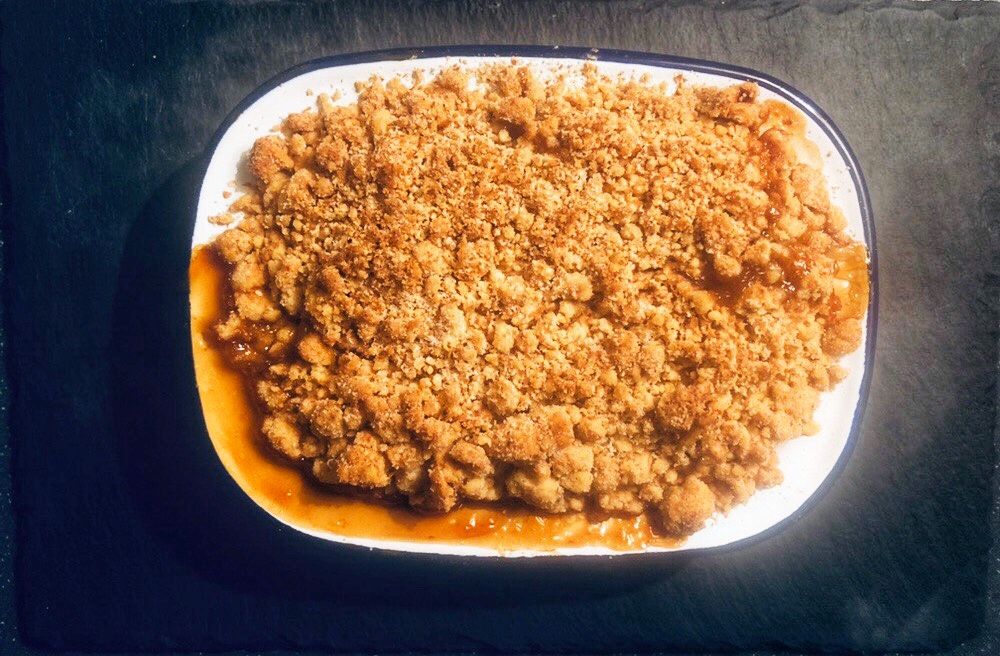 Apricot + Crumble - By FRESHLY MADE