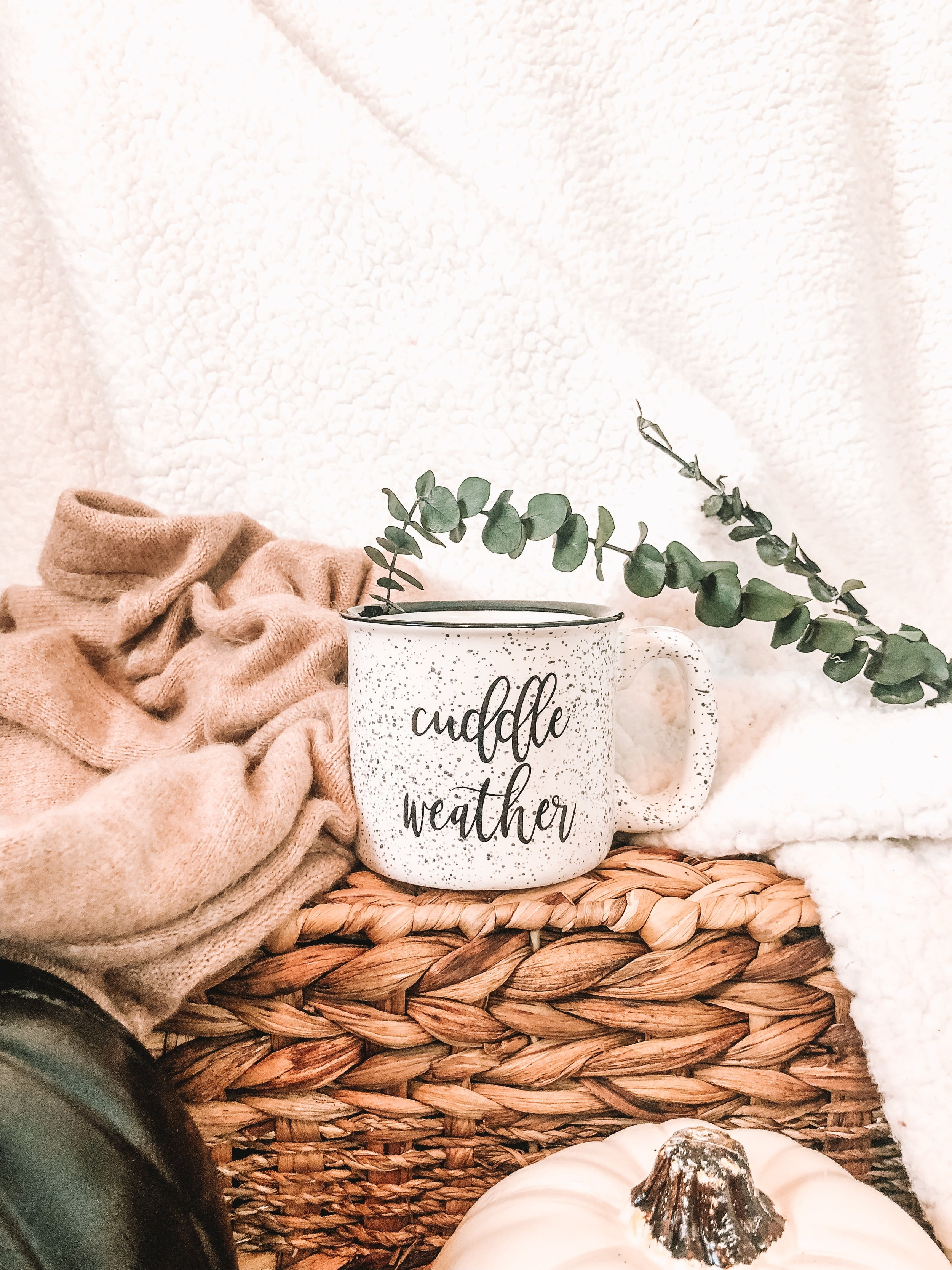 Handlettered Custom Mug
