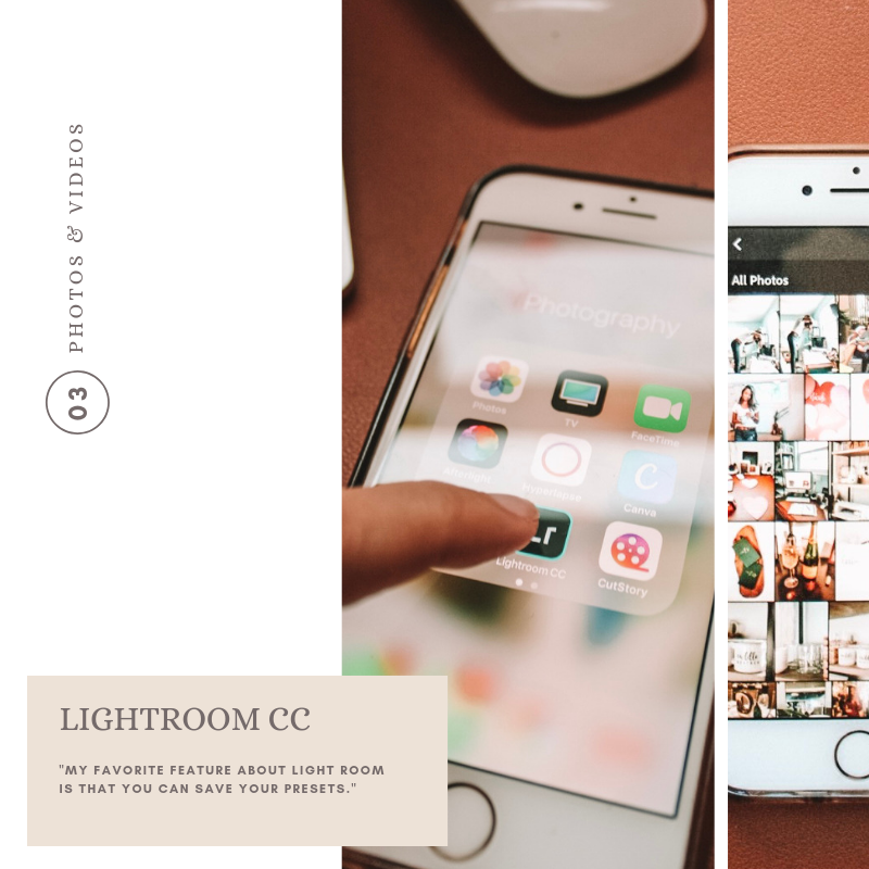 Light Room_ creative business tips_palms and paper