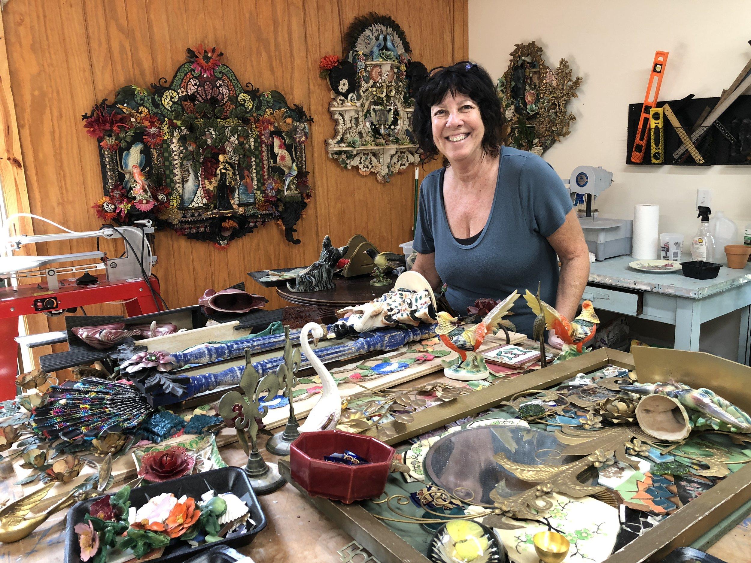 Wendy in Studio