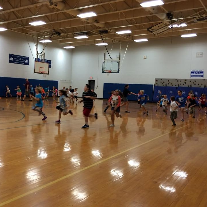 Compete to the beat!!    - This class uses music to inspire movement, creativity and imagination, as well as fun with fitness and physical activity. It also encourages friendly competition - involving elimination activities and point-system based games in order to teach good sportsmanship while winning and/or losing.