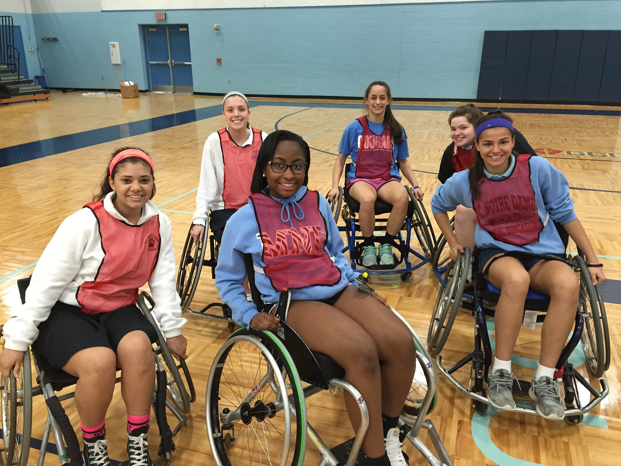 B-ball with a purpose! - This program is a great follow up to our Disability Awareness Presentation, or alone by itself. Your students get the opportunity to play a game of wheelchair basketball - meanwhile learning about the commonalities we all share, regardless of different abilities.