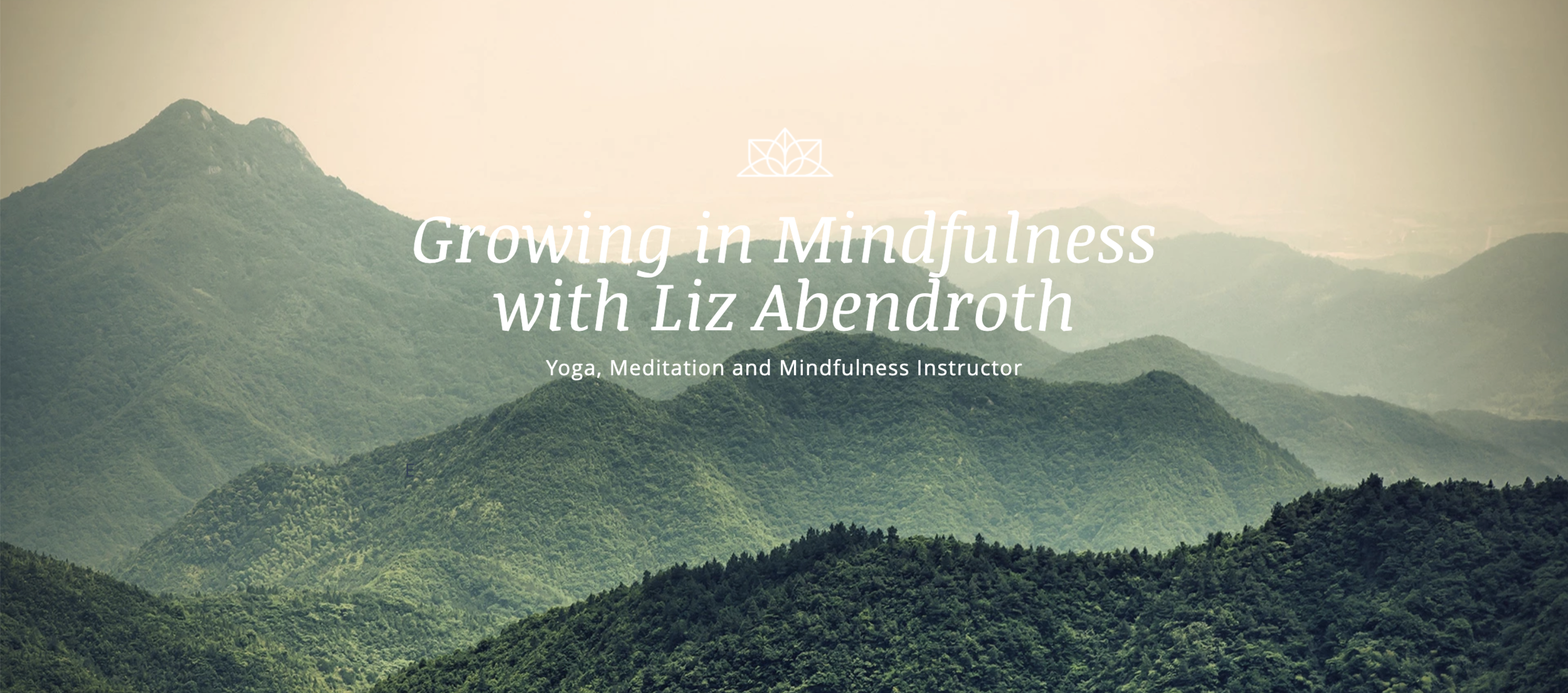 We were thrilled to have Liz from  Growing in Mindfulness  lead our Yoga & Mindfulness portion of our Tuition-free camps this past Spring!