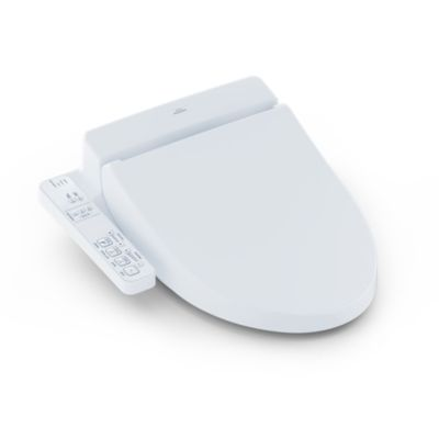 WASHLET® A100 - Elongated    This entry-level WASHLET features a streamlined design with convenient side remote control panel. It ensures a hygenic and refreshing experience with heated seat and dual action spray.