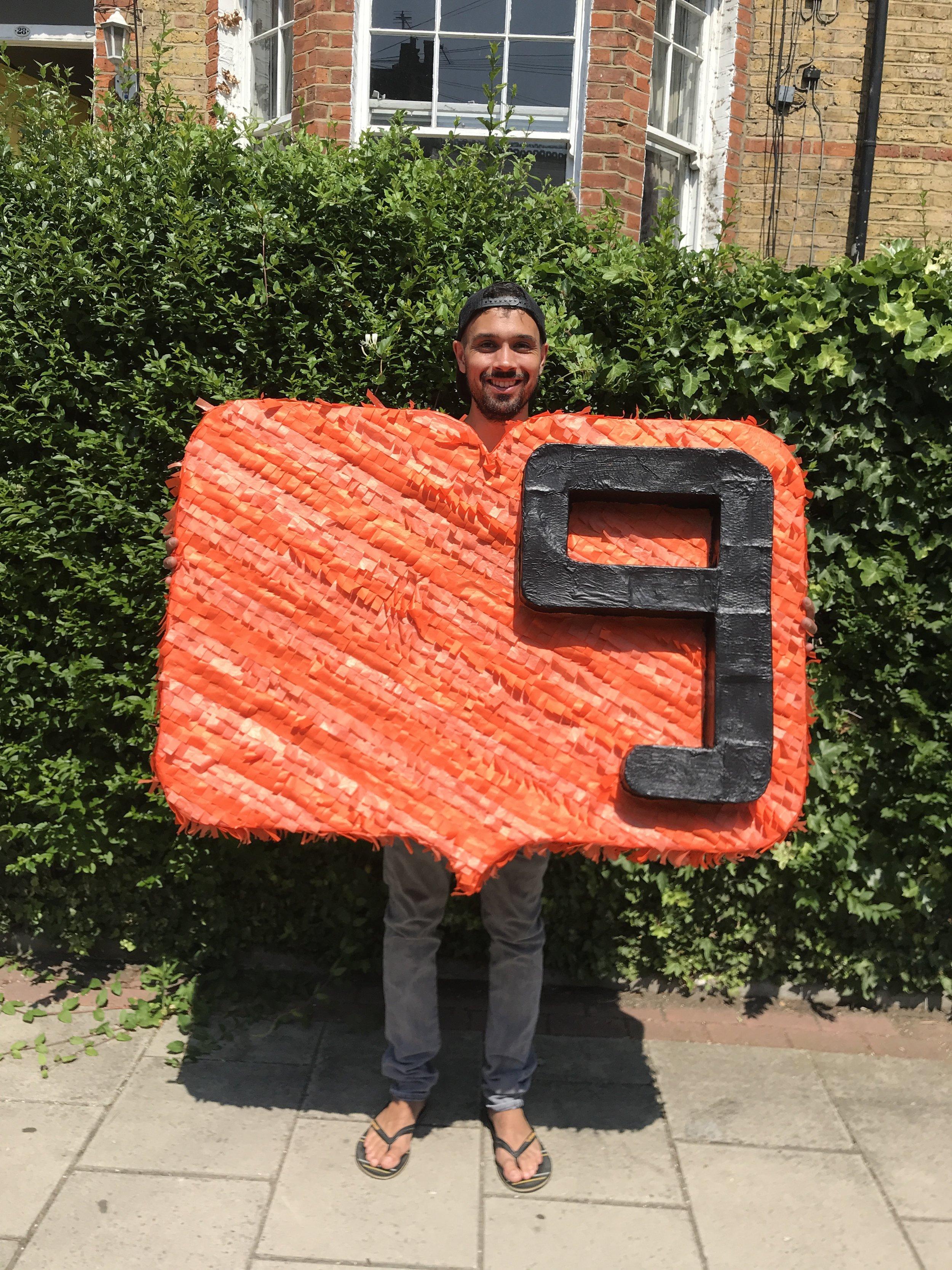 111Collective Give Blood Piñata