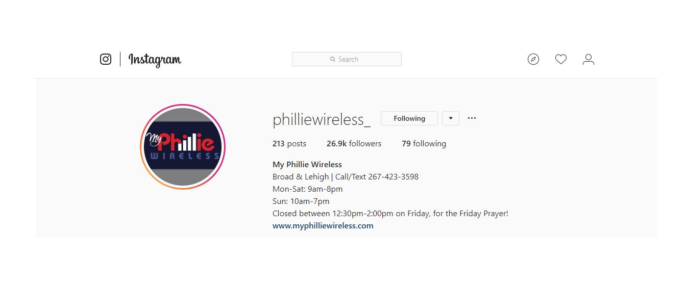 Instagram  @philliewireless_