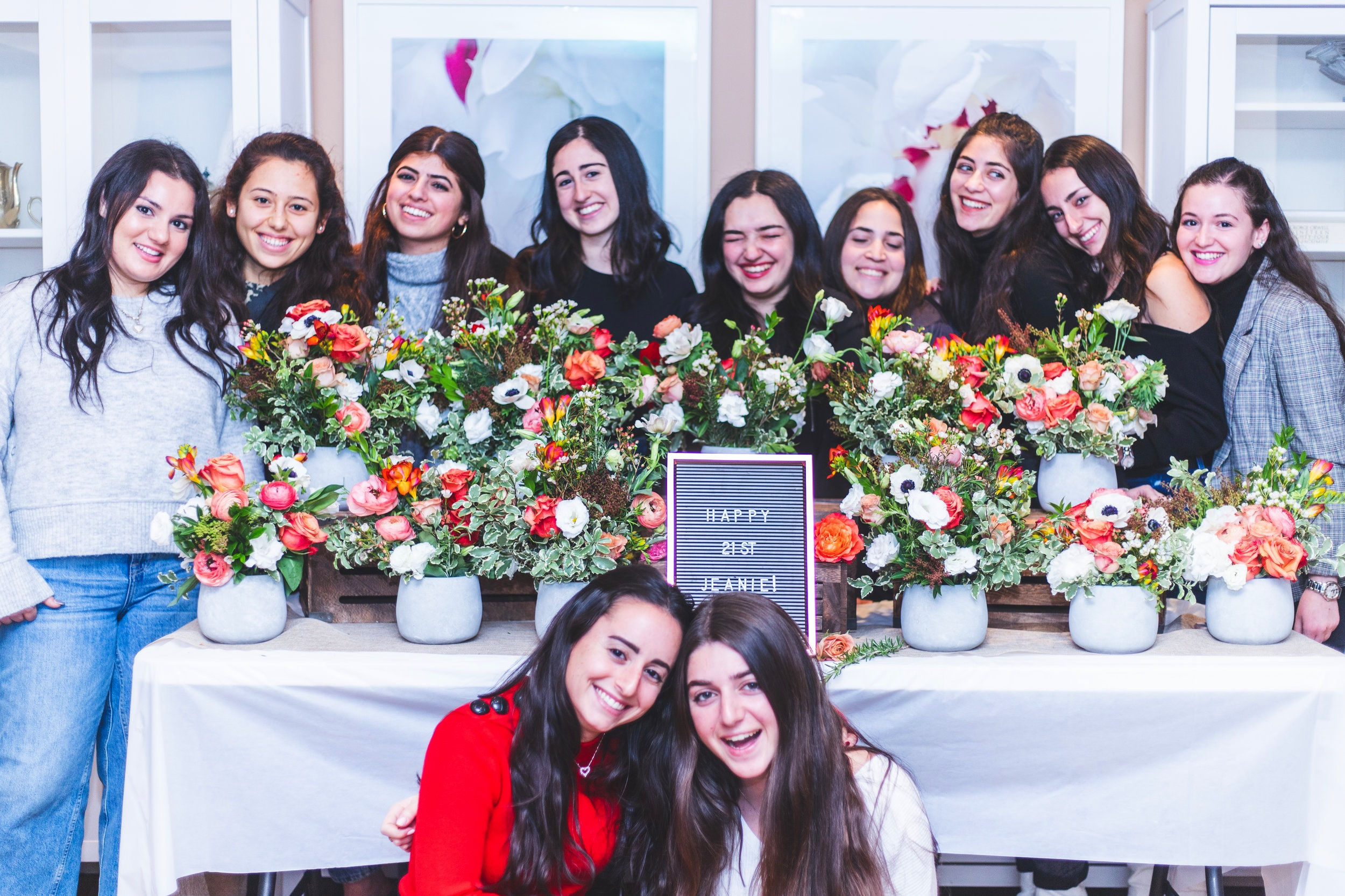 Flower Workshops - In your own home/location of choice in NYC, this floral arranging workshop Includes flowers, vases, shears, step by step instruction on making a wild and whimsical flower arrangement, flower market secrets & flower recipe PDF. Professional photography included!