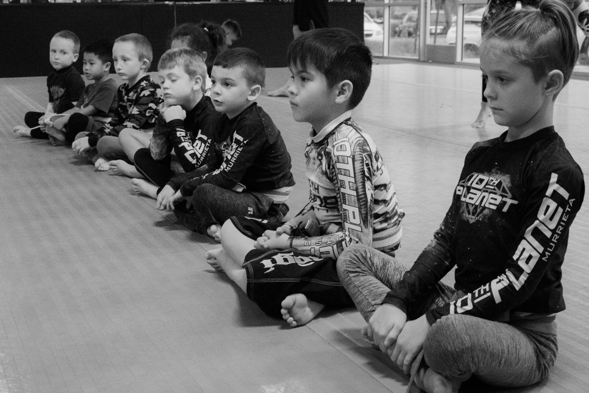 Kids Jiu Jitsu -
