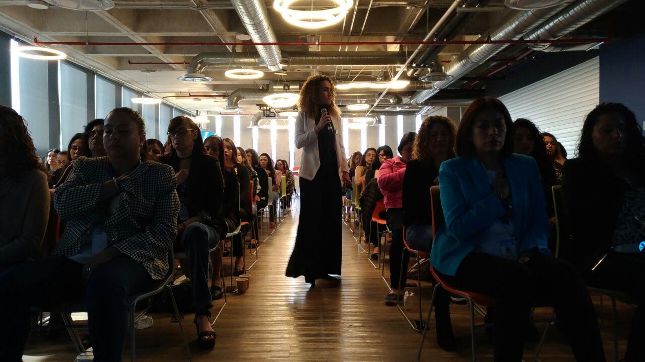 "Conferencia    ""Mindful Woman""    en Ingram.   Ileana Ponce host por Grupo Corad con Medita México AC."